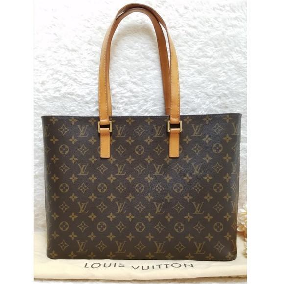 1b65e84056e7 Louis Vuitton Handbags - Louis Vuitton Luco Tote Bag Monogram